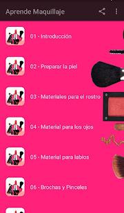 Aprende Maquillaje 1.7 Screenshots 1