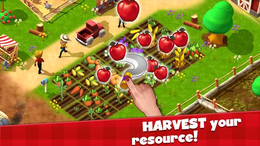 Happy Town Farm Games - Farming & City Building  screenshots 3
