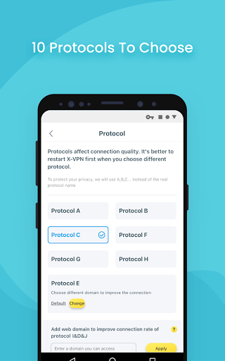X-VPN - Free VPN proxy master & private browser apktram screenshots 4