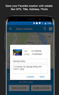Save Location GPS Premium Apk 7.0 (Mod/Paid Features Unlocked) 7