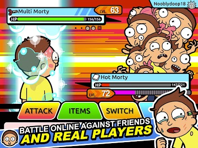 Rick and Morty: Pocket Mortys Mod Apk (Unlimited Tickets/Money) 9