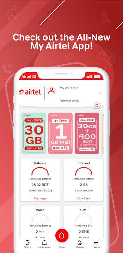 My Airtel - Bangladesh android2mod screenshots 1