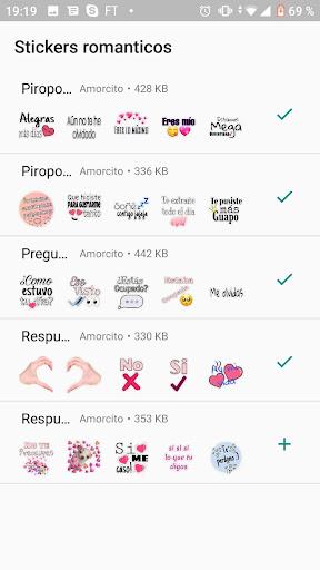 Stickers de amor para WhatsApp ud83dudc95 - WAStickerApps  Paidproapk.com 4
