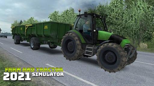 Real Farming and Tractor Life Simulator 2021 android2mod screenshots 4