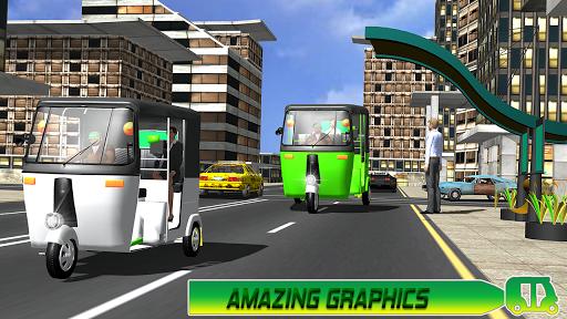 Modern auto tuk tuk Real rickshaw game 2021 1.8 screenshots 5