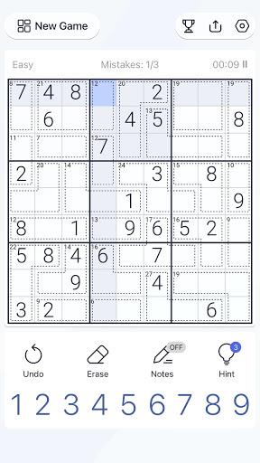 Killer Sudoku - Free Sudoku Puzzle, Brain Games  screenshots 6