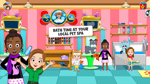 My Town : Pets, Animal game for kids android2mod screenshots 15
