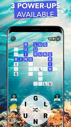 Word Connect - Words of Nature: Word Games apkpoly screenshots 3