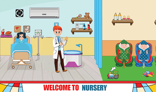 Pretend Hospital Doctor Care Games : My Life Town  screenshots 3