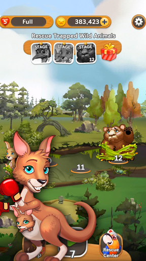 Puzzle Fruits: Rescue Wild  screenshots 1