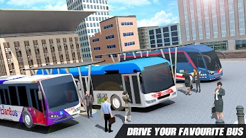 City Bus Simulator 2021 - Free Bus Parking Game