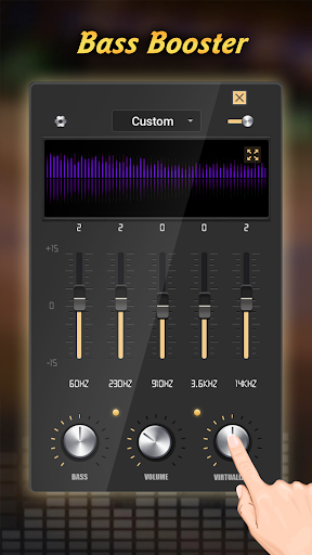 Equalizer Pro - Volume Booster & Bass Booster 1.0.21 Screenshots 3