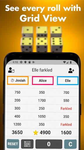 Farkle Scorekeeper - Classic dice game companion screenshots 3