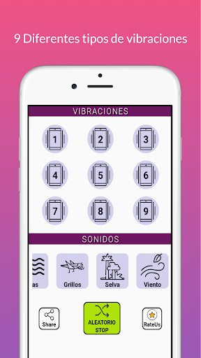 Strong Vibrator with Relaxing Sounds  Screenshots 3