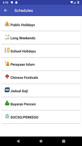 Malaysia Calendar 2021 Widget Gaji modavailable screenshots 5