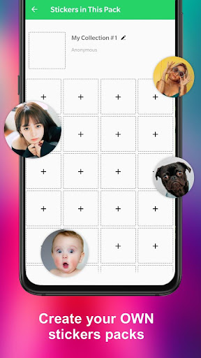 Animated Sticker Maker for WA WAStickerApps 2.2.7 Screenshots 3