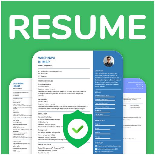 Resume Builder Online Cv Maker Download Pdf Free التطبيقات على Google Play