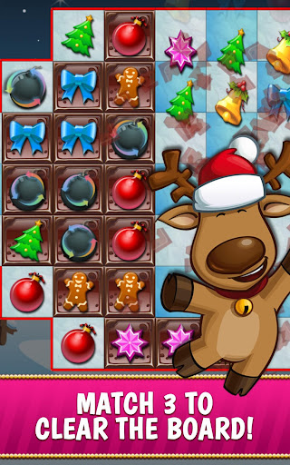 Christmas Crush Holiday Swapper Candy Match 3 Game 1.90 screenshots 2