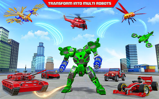 Multi Robot Transform game u2013 Tank Robot Car Games  screenshots 9