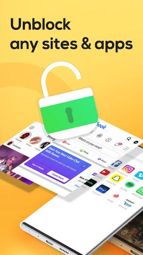 Yoga VPN - Free Unlimited & Secure Proxy & Unblock Apkfinish screenshots 4
