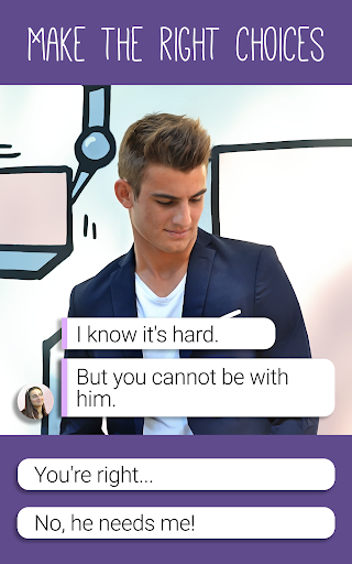 Hey Love Tim: High School Chat Story android2mod screenshots 7