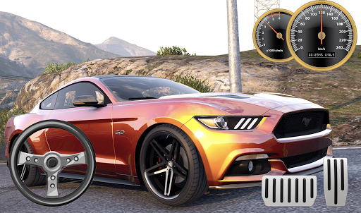 Drive Ford Mustang City Parking apklade screenshots 1
