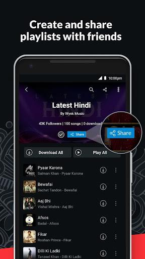 Wynk Music- New MP3 Hindi Songs Download HelloTune 3.11.4.0 screenshots 7