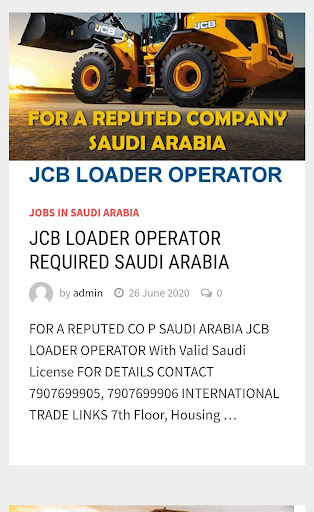 Gulf Jobs Today ;Gulf Jobs 2.0 screenshots 2
