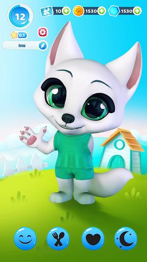 Inu the cute Shiba - virtual pup games  screenshots 1