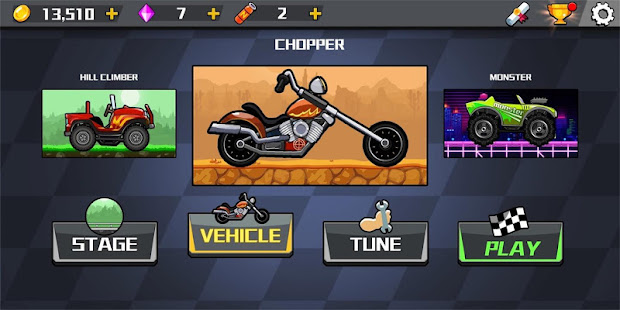 Hill Car Race - New Hill Climb Game 2020 For Free 1.2 APK + Мод (Unlimited money) за Android