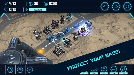 TD Tower Defense: Base Defender Tactical Tank War 1.6.4 screenshots 1