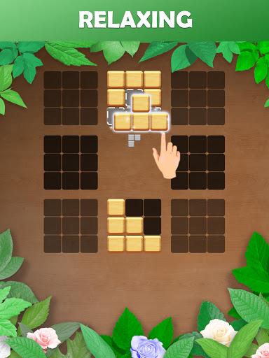 Wood Block Puzzle: Reversed Tetris & Block Puzzle android2mod screenshots 10