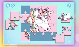 Unicorn Puzzles for Kids