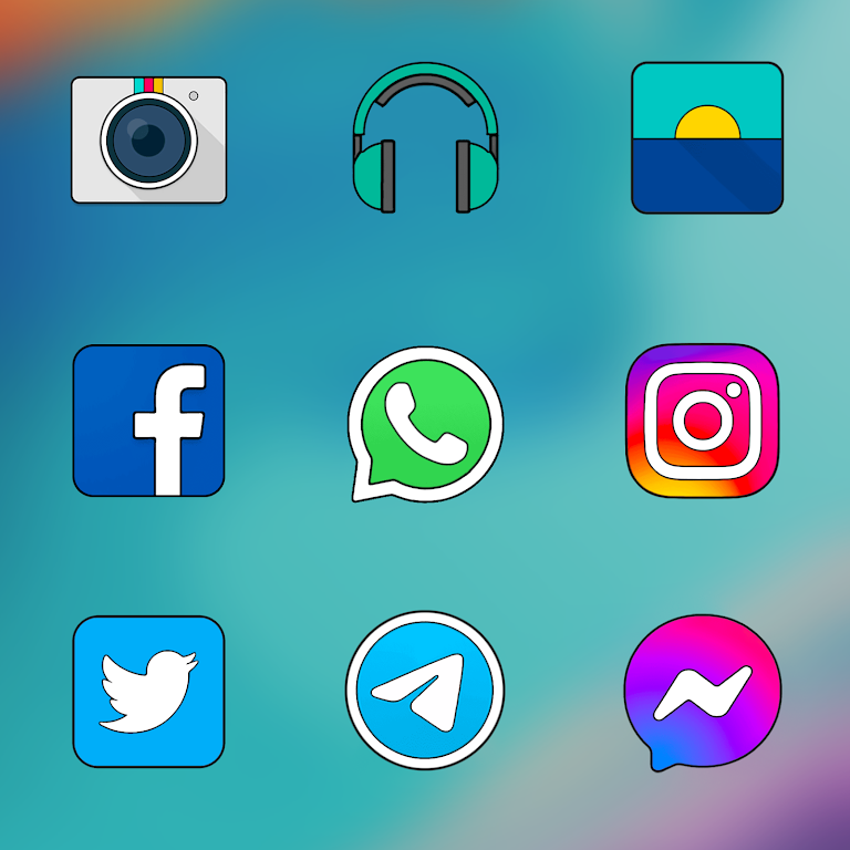 Oxigen HD - Icon Pack  poster 2