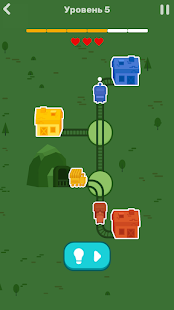 Tap Tap Rails: Railroad Puzzle 1.0.0 APK + Мод (Unlimited money) за Android
