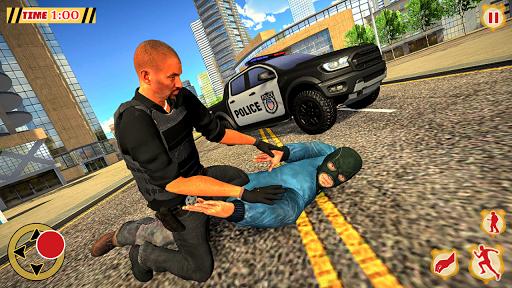 POLICE CRIME SIMULATOR: SUPERHERO GANGSTER KILL apkpoly screenshots 1