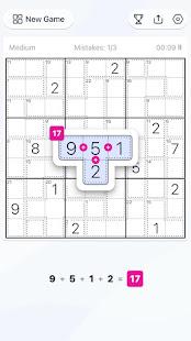 Killer Sudoku - Free Sudoku Puzzle, Brain Games 1.11.0 screenshots 1