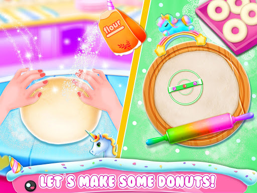 Unicorn Donut Maker: Dessert Cooking Mania  Screenshots 3