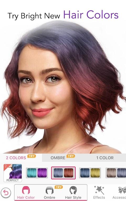 YouCam Makeup-Magic Selfie Cam & Virtual Makeovers  poster 0