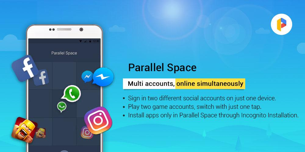 Parallel Space - Multiple accounts & Two face poster 4