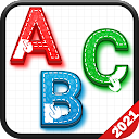 Kids ABCs & Numbers-Coloring ABC,Tracing & Phonics