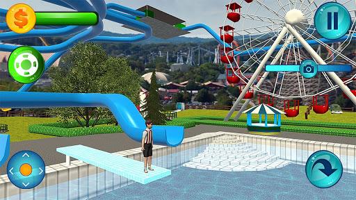 Uphill Rush Aqua Water Park Slide Racing Games  screenshots 1