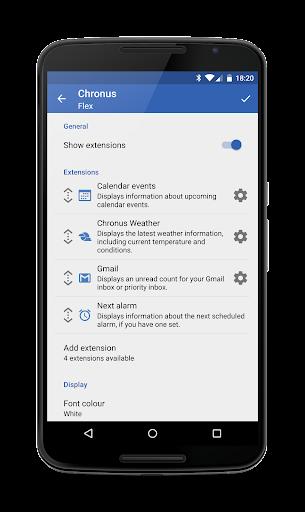Chronus Information Widgets android2mod screenshots 23