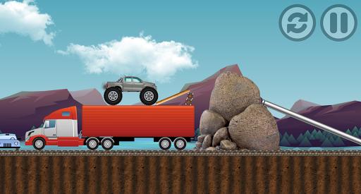 monster truck : adventure race screenshot 3
