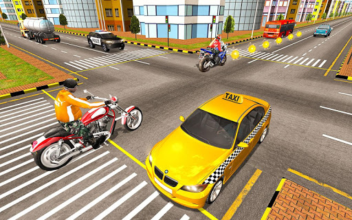 Bike Attack Race : Highway Tricky Stunt Rider android2mod screenshots 3