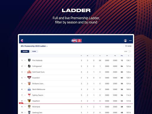AFL Live Official App  screenshots 9