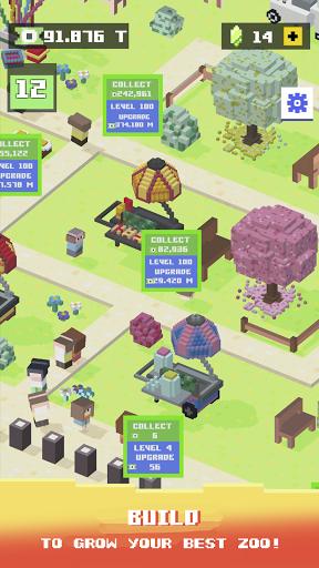 Blocky Zoo Tycoon - Idle Clicker Game! 0.7 Screenshots 6