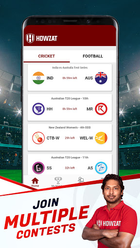 Howzat Fantasy Cricket App - Free Fantasy Games apkdebit screenshots 4