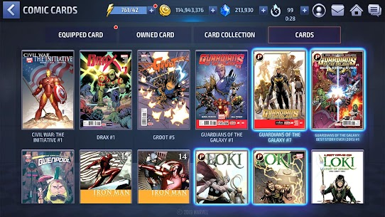 Marvel Future Fight MOD Apk [Unlimited Gold/Crystals/Money] For Android 7