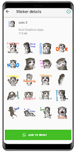 WAStickerApps Cat memes and Kawaii cats stickers